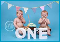 Twins Cake Smash West Bromwich